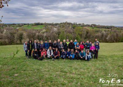 Foto di gruppo Esplorando i Colli!