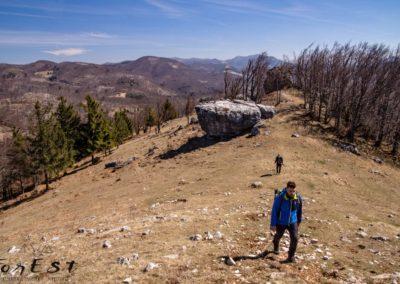 In arrivo sul Sinji Vrh