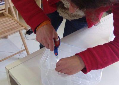 Preparazione del modellino