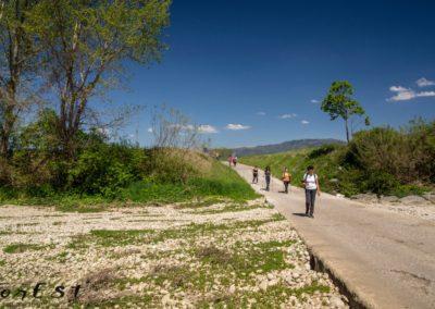 Guado sul torrente Malina