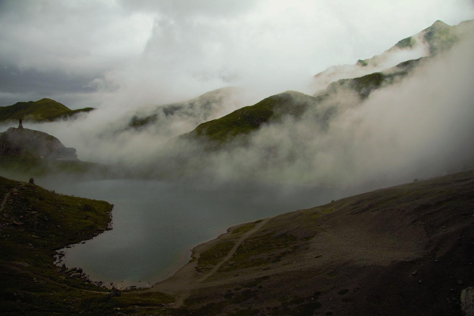 Il Lago di Volaia dopo il temporale