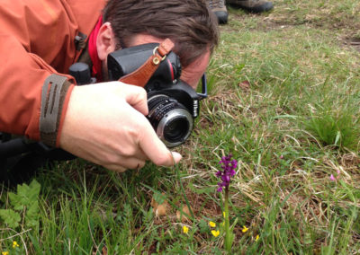 Il fotografo in azione
