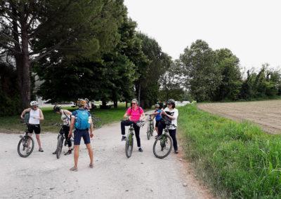 Escursione guidata in bicicletta tra le colline moreniche di Moruzzo e Rive d'Arcano