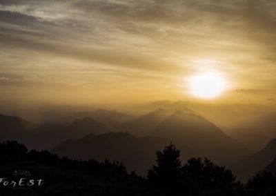 L'atteso tramonto