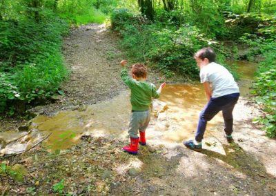 Escursione con bimbi e genitori al Fiume