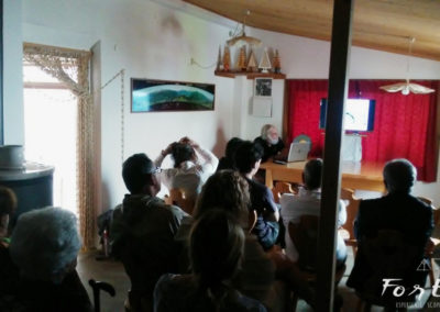 Incontro con il prof. Madrassi al Rifugio Chiadinas