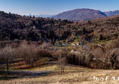 L'altopiano di Monte Prat