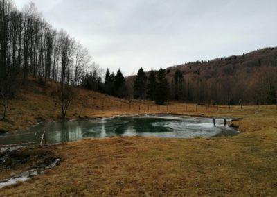 Il laghetto della Val Polaga