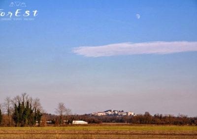 San Daniele e la luna