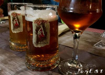 ...tra birre locali