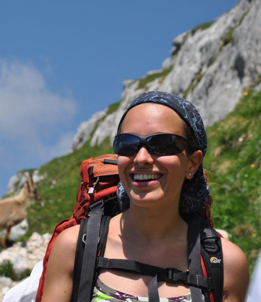 Chiara Popesso Guida Ambientale Escursionistica