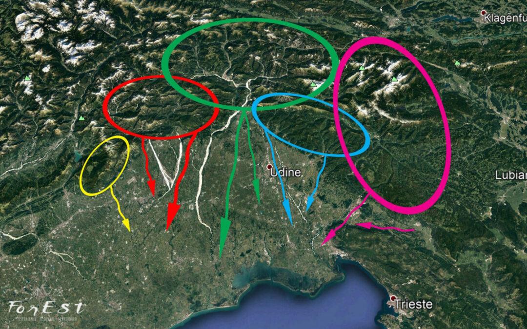 I fiumi del FVG come corridoi ecologici