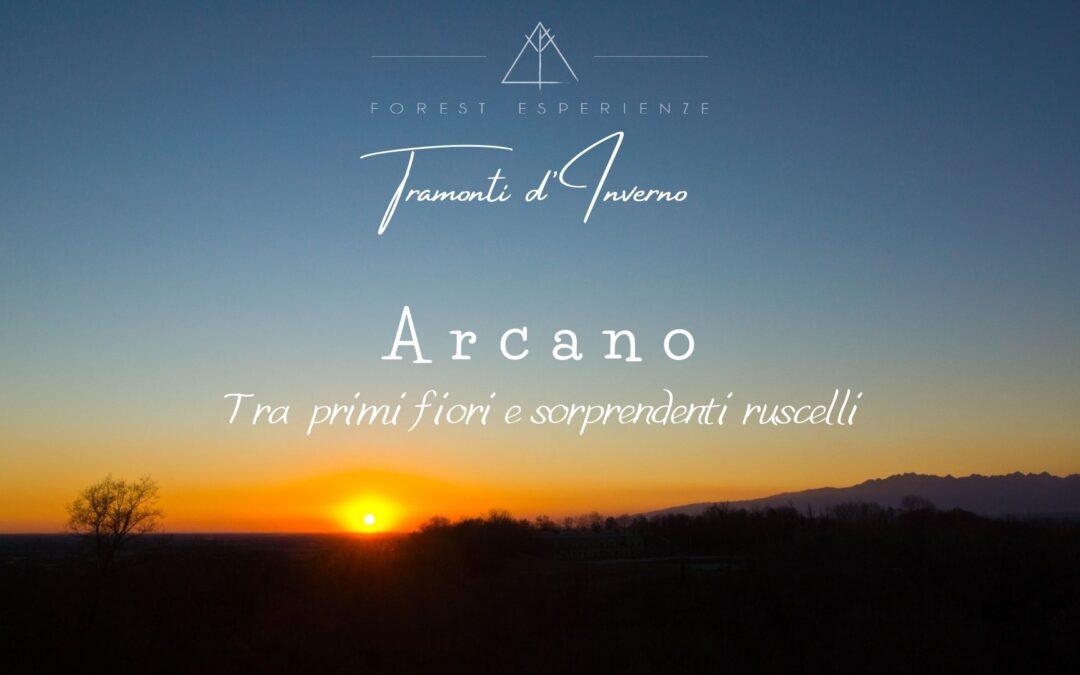 Tramonti d'Inverno tra le colline di Arcano