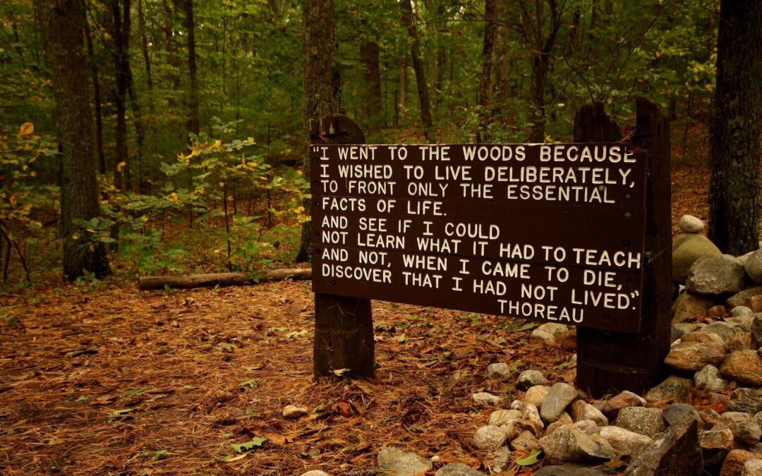 Rubrica libri – Henry David Thoreau – Camminare